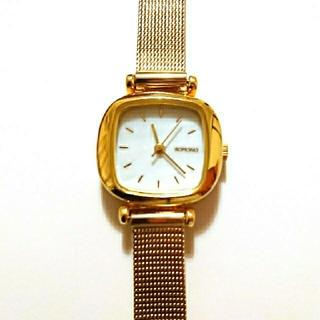ROSE BUD - ★限定値下★《ROSE BUD/ローズバッド》KOMONOゴールドチェーン腕時計