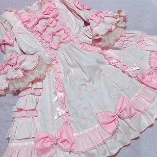 Angelic Pretty - アンジェリックプリティ 姫袖 ドレス ピンク