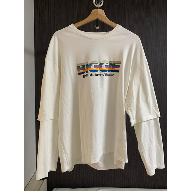 "SUNSEA(サンシー)のDAIRIKU/""BIGGIE"" Layered T-Shirt メンズのトップス(Tシャツ/カットソー(七分/長袖))の商品写真"