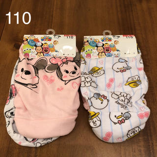 Disney - 新品 ディズニー ツムツム パンツ ショーツ 110 女の子