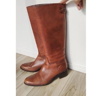 【美品】ロングブーツ(XL)(ブーツ)