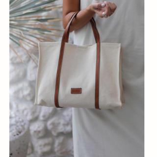 ルームサンマルロクコンテンポラリー(room306 CONTEMPORARY)のHandle Leather Campus Bag (トートバッグ)