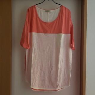 ライトオン(Right-on)のレディース Tシャツ L(Tシャツ(半袖/袖なし))