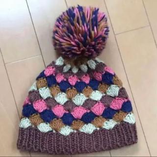 ampersand - ニット帽 アンパサンド 帽子