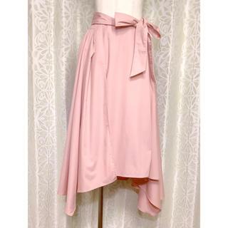 エイミーイストワール(eimy istoire)のeimy istoireのピンク2wayスカート(ロングスカート)