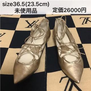 POE ゴールド パンプス size36.5(23.5cm) 未使用品(ハイヒール/パンプス)