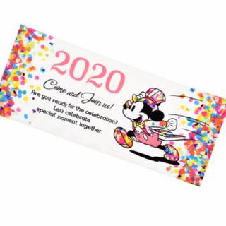 Disney - お値下げ♥️フェイスタオル 2020