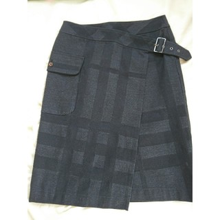 BURBERRY - バーバリー  巻きスカート