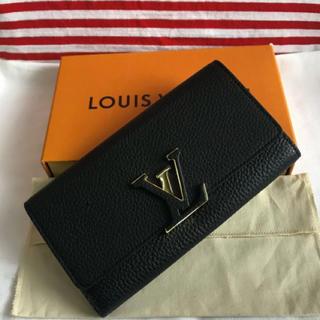 LOUIS VUITTON - ルイヴィトン  カプシーヌ 財布