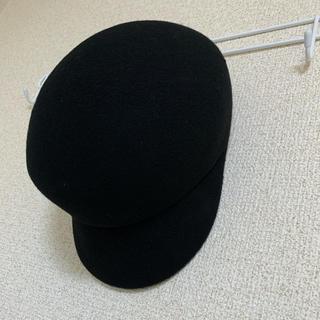 ルームサンマルロクコンテンポラリー(room306 CONTEMPORARY)のroom306 帽子 ブラック(キャスケット)