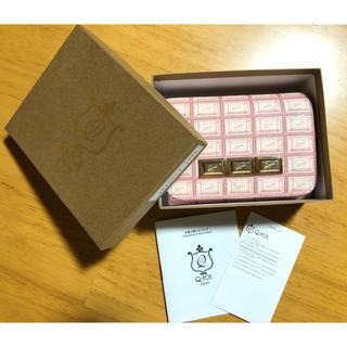 キューポット(Q-pot.)のQ-pot♡チョコレート財布(財布)