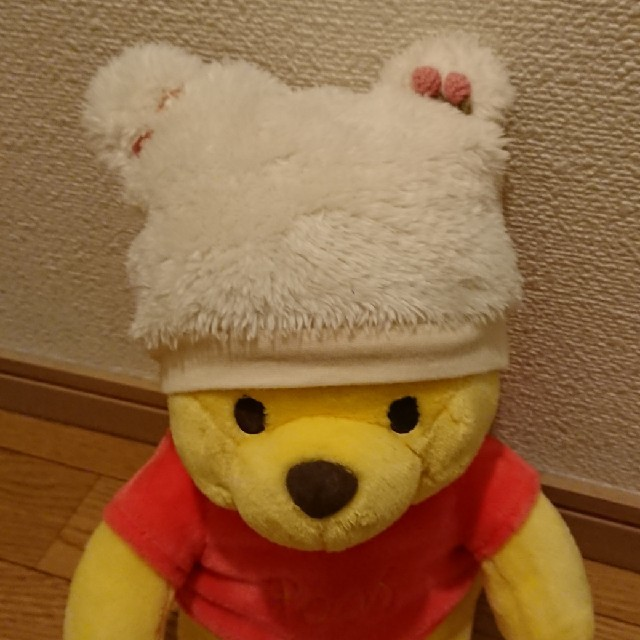 Souris(スーリー)のスーリー クマ耳帽子(ホワイト) キッズ/ベビー/マタニティのこども用ファッション小物(帽子)の商品写真