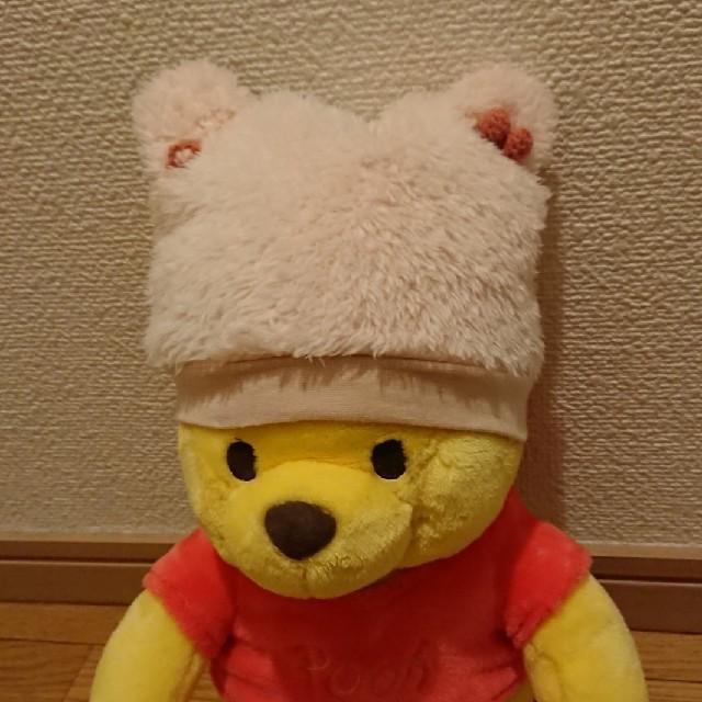 Souris(スーリー)のスーリー クマ耳帽子(ピンク) キッズ/ベビー/マタニティのこども用ファッション小物(帽子)の商品写真