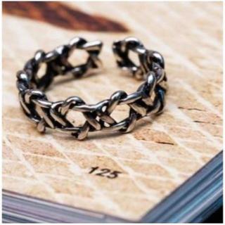 【シルバーアクセサリー】六芒星 ヘキサグラムモチーフのリング ユニセックス(リング(指輪))