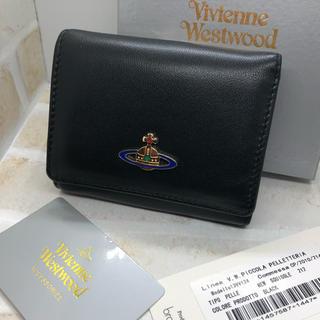 Vivienne Westwood - ヴィヴィアン  ウエストウッド レザー コンパクト 財布 黒 新品未使用