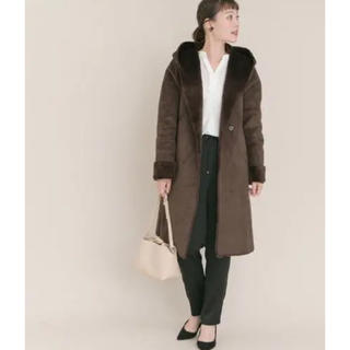 URBAN RESEARCH ROSSO - 未使用☆完売 URBAN RESEARCH ROSSO 大人っぽ*ムートンコート