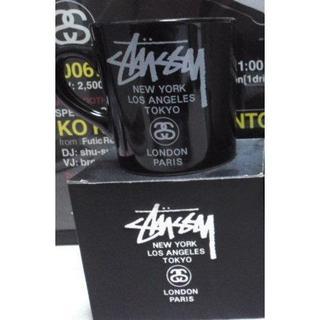 ステューシー(STUSSY)の新品   STUSSY ワールドツアー黒(グラス/カップ)