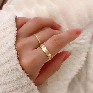 グッチ(Gucci)のGUCCI♡アイコンリング (リング(指輪))