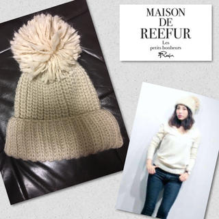 Maison de Reefur - ★メゾンドリーファー ボンボン ニット帽 ★