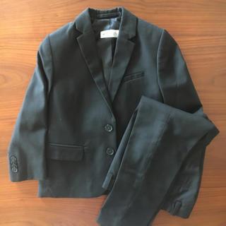 エイチアンドエム(H&M)のH&M 男児スーツ 黒 110cm(ドレス/フォーマル)