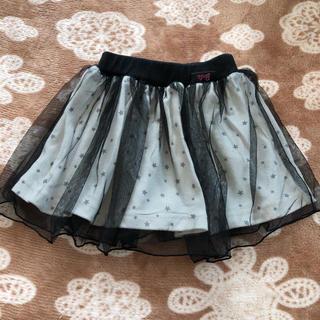 バービー(Barbie)のバービー 星柄 チュール スカート 95(スカート)