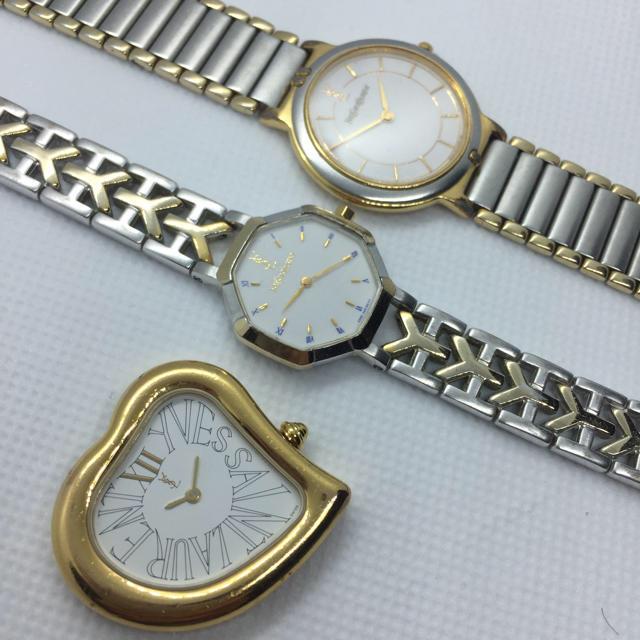 Saint Laurent(サンローラン)のイヴサンローラン3本 まとめ売り 腕時計 お買い得 レディースのファッション小物(腕時計)の商品写真