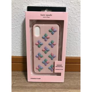 ケイトスペードニューヨーク(kate spade new york)のケイトスペード iPhone XS/X ケース スマホケース 新品 ピンク(iPhoneケース)