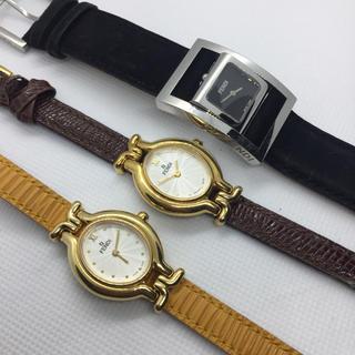 FENDI - FENDI 腕時計3本 まとめ売り 美品 正規品