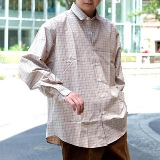 auralee 18ss フィンクスコットンシャツ サイズ4