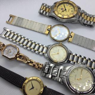 グッチ(Gucci)の腕時計6本 動作品からジャンクまで GUCCI タグホイヤー Dior YSL等(腕時計)