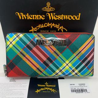 Vivienne Westwood - 未使用☺︎Vivienne Westwood 長財布 チェック アングロマニア