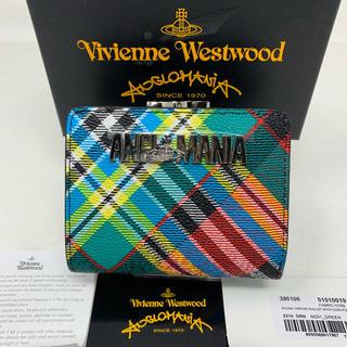 Vivienne Westwood - 未使用☺︎Vivienne Westwood 二つ折り財布 タータンチェック