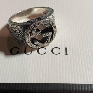 Gucci - オールドGUCCIメンズリング18号 正規品