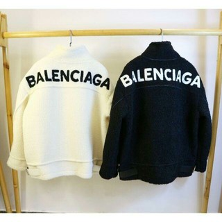 Balenciaga - BALENCIAGA コート ジャケット アウター 防寒 メンズ レディース 黒