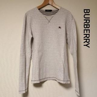 バーバリーブラックレーベル(BURBERRY BLACK LABEL)のBURBERRY 厚地コットン(Tシャツ/カットソー(七分/長袖))