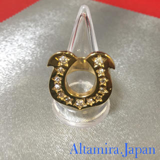 18K ゴールドコーティング ホースシューリング / テンダーロイン 好きに☆(リング(指輪))