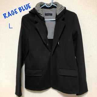 レイジブルー(RAGEBLUE)のRAGE BLUE ジャケット 黒 フード付き(その他)