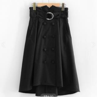MAJESTIC LEGON - ♡マジェ フロントボタン フレアスカート♡