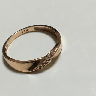 アイアイメディカル(AIAI Medical)の14金 ピンクゴールド (リング(指輪))