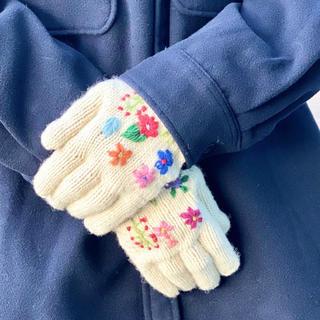 ビームスボーイ(BEAMS BOY)のビームスボーイ BEAMS 手刺繍グローブ 手袋(手袋)
