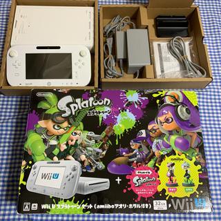 Wii U - WIIU スプラトゥーンセット
