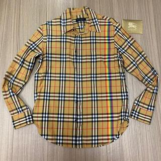 BURBERRY - Burberry バーバリー シャツ Tシャツ 長袖 S