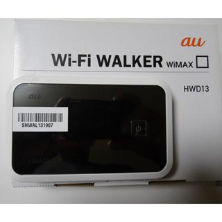 au - au Wi-Fi WALKER WiMAX HWD13 ワイマックス ルーター
