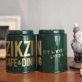 チャングンソク zikzincafe  紅茶缶 エキゾチックルイボスティー
