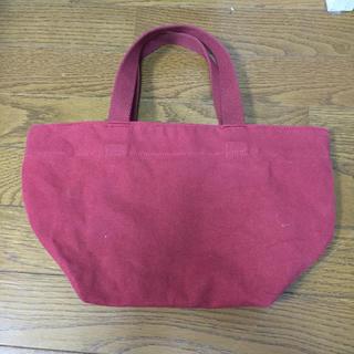 ムジルシリョウヒン(MUJI (無印良品))の赤い かばん(ハンドバッグ)