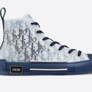 Christian Dior - dior b23 oblique スニーカー ネイビー