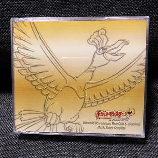 ポケモン(ポケモン)のニンテンドーDS「ポケモン ハートゴールド&ソウルシルバー」サントラ CD(ゲーム音楽)