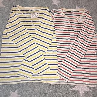 ハートマーケット(Heart Market)のハートマーケット ボーダーロンT2枚セット(Tシャツ(長袖/七分))
