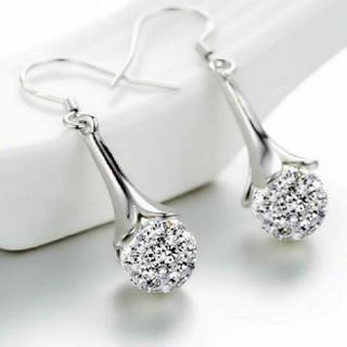 SWAROVSKI - f69 ❇️スカビオサ❇️ ダイヤモンド キュービック ジルコニア ピアス