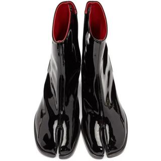 マルタンマルジェラ(Maison Martin Margiela)のMaison Margiela 足袋ブーツ レザー (ブーツ)
